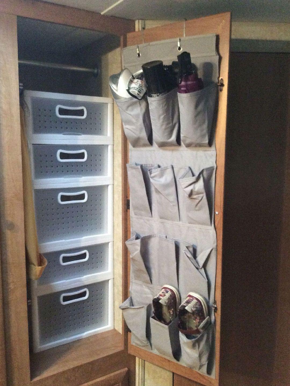 Simple RV Camper Storage Design