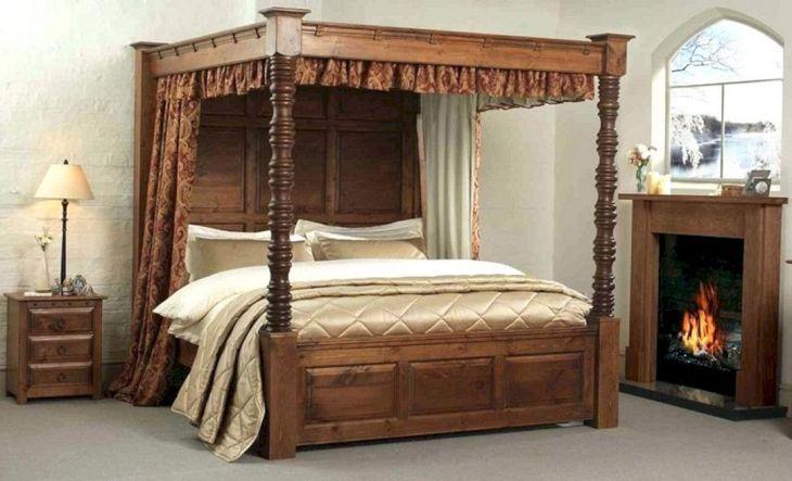 Wooden Bed Frame Source plentyoflesley com