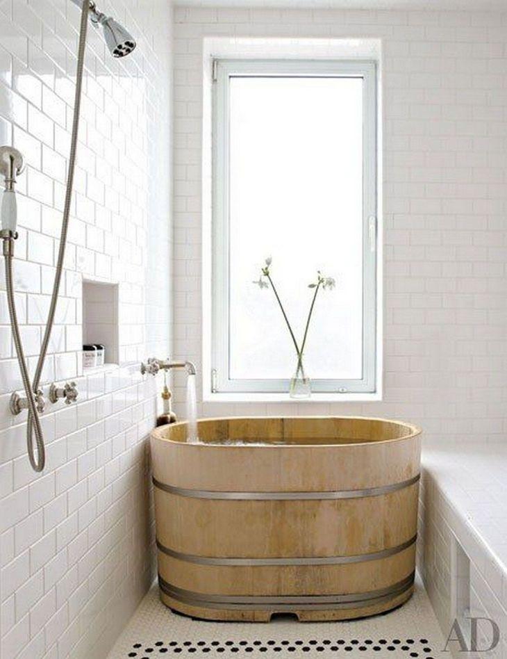 Bathroom Design With Tiny Bathtub