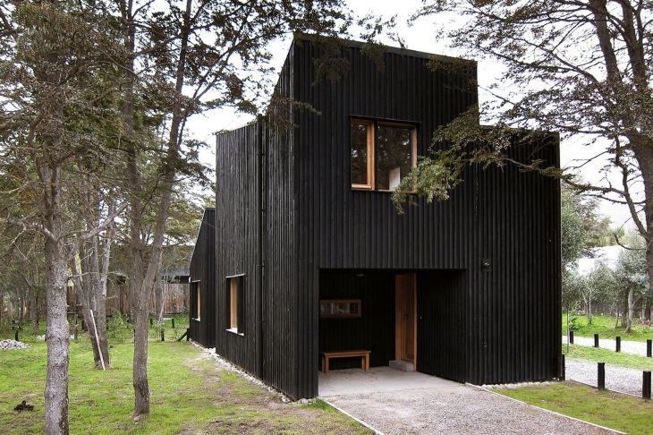 Black Wood Home Design