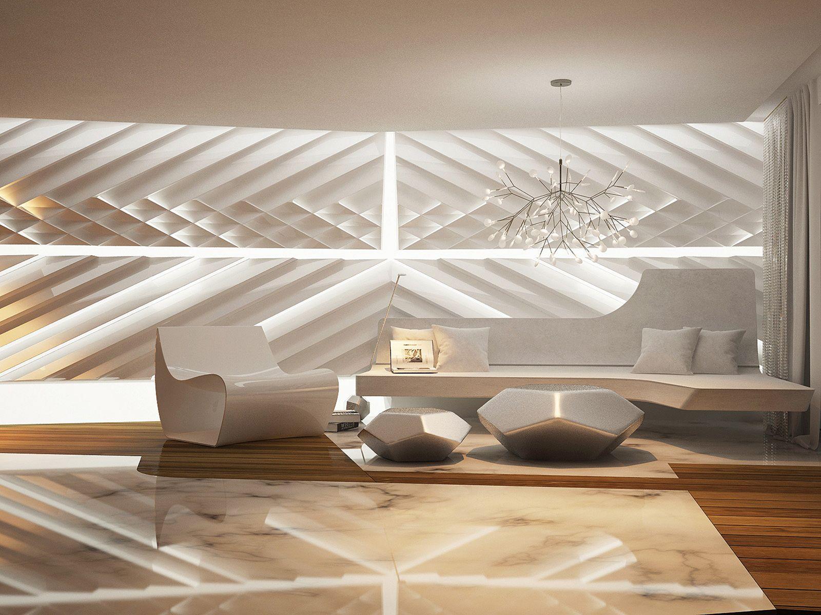 Futuristic Home Interior Design Ideas