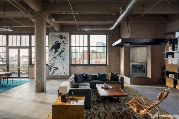 Industrial Home Open Concept Ideas