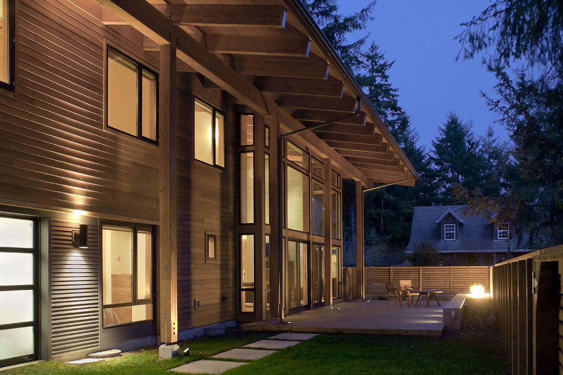 Oregon Wooden Home Design