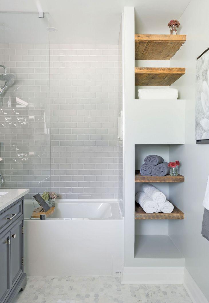 Tiny Bathroom With Bathtub