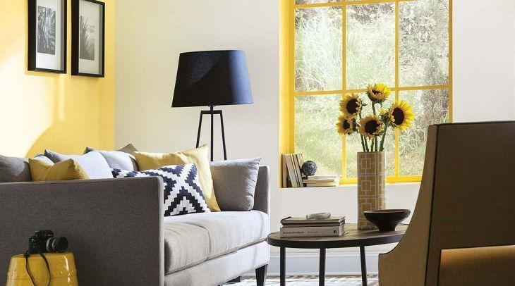 Cool Yellow Paint Interior Ideas
