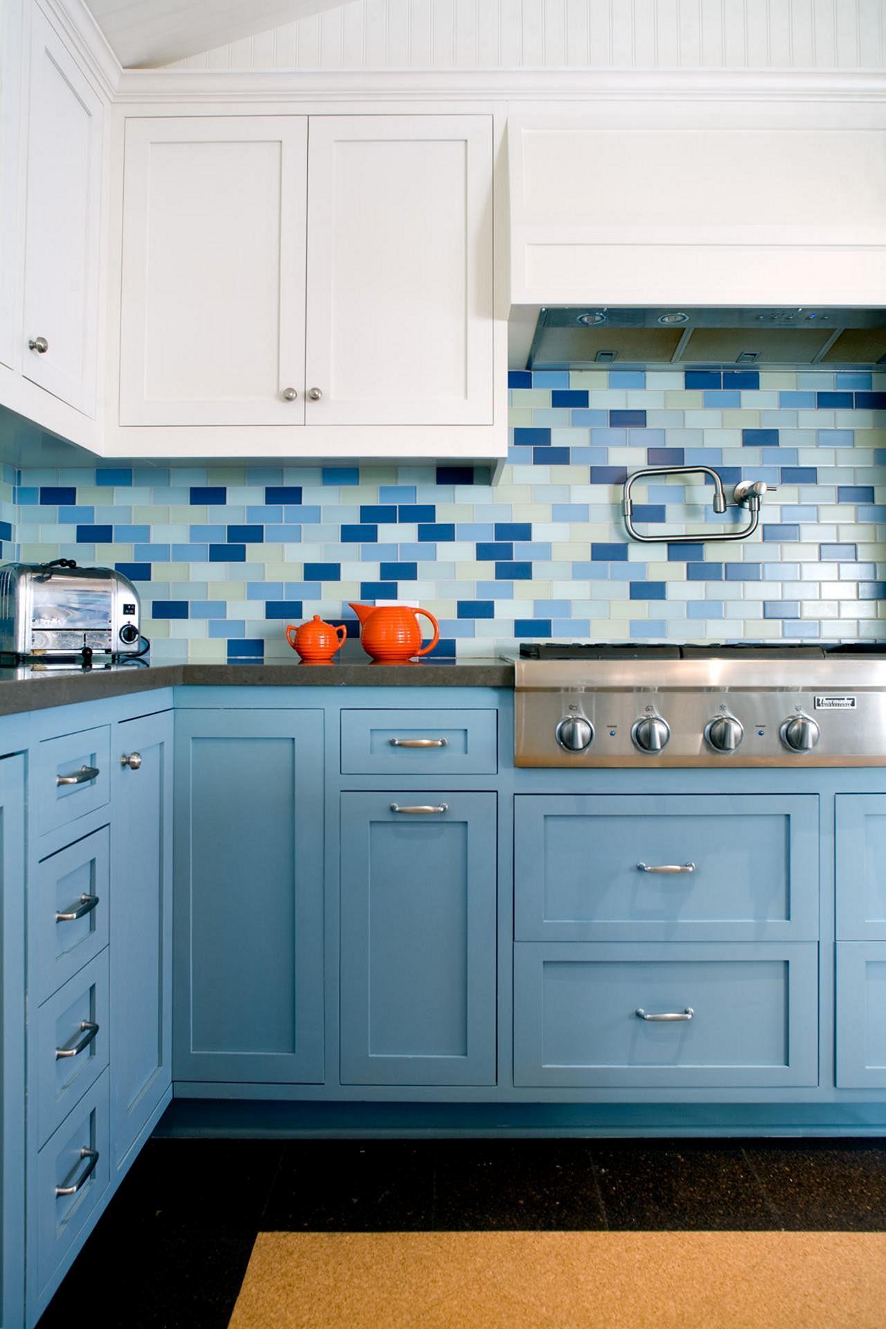 Kitchen Blue Calem Ideas