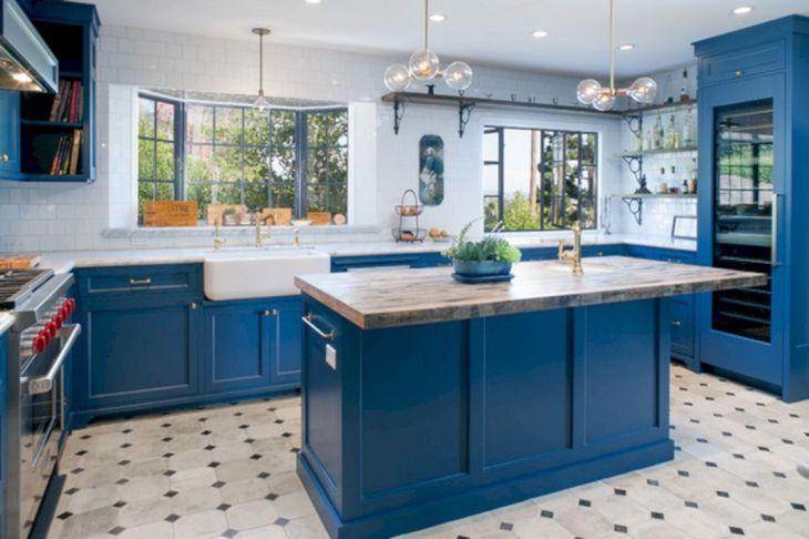 Kitchen Blue Color Ideas