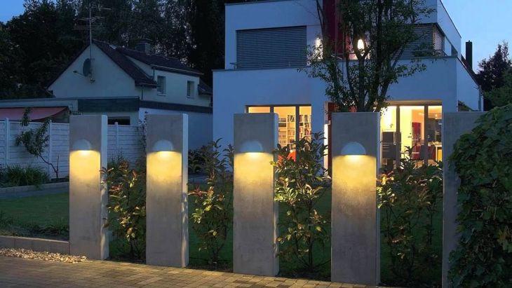 Wall Garden Light Design