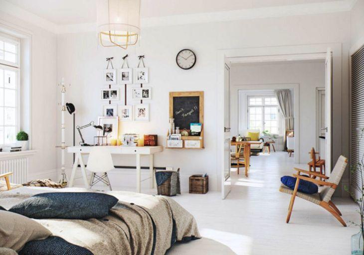 White Scandinavian Home Design Ideas