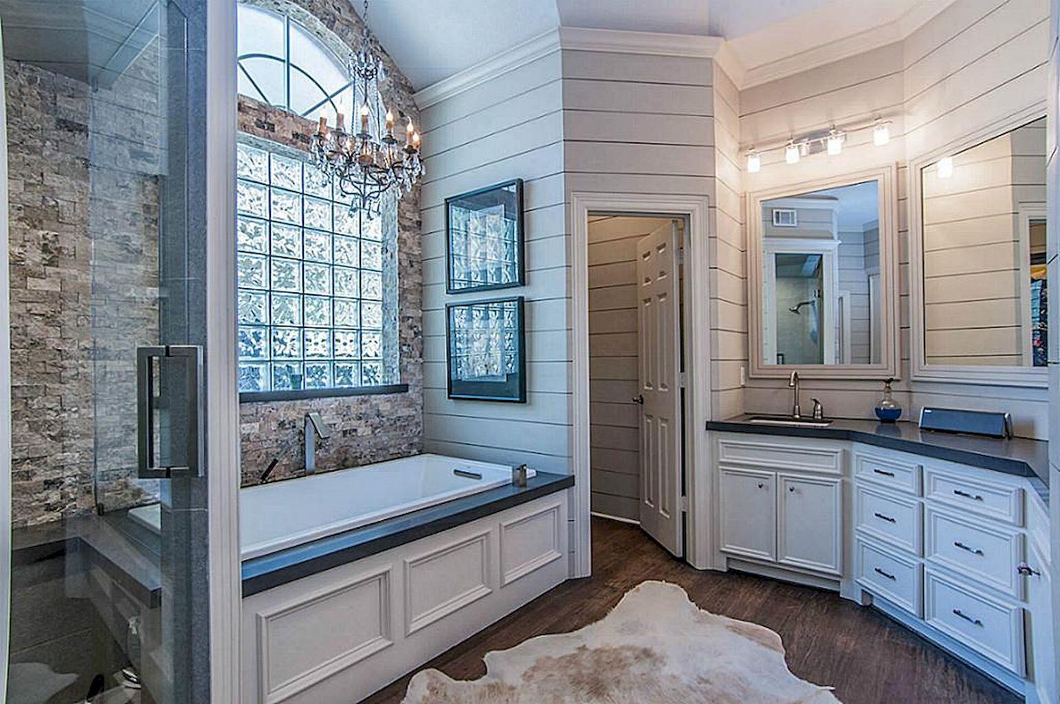 Beautiful Rustic Master Bathroom Ideas Decoredo