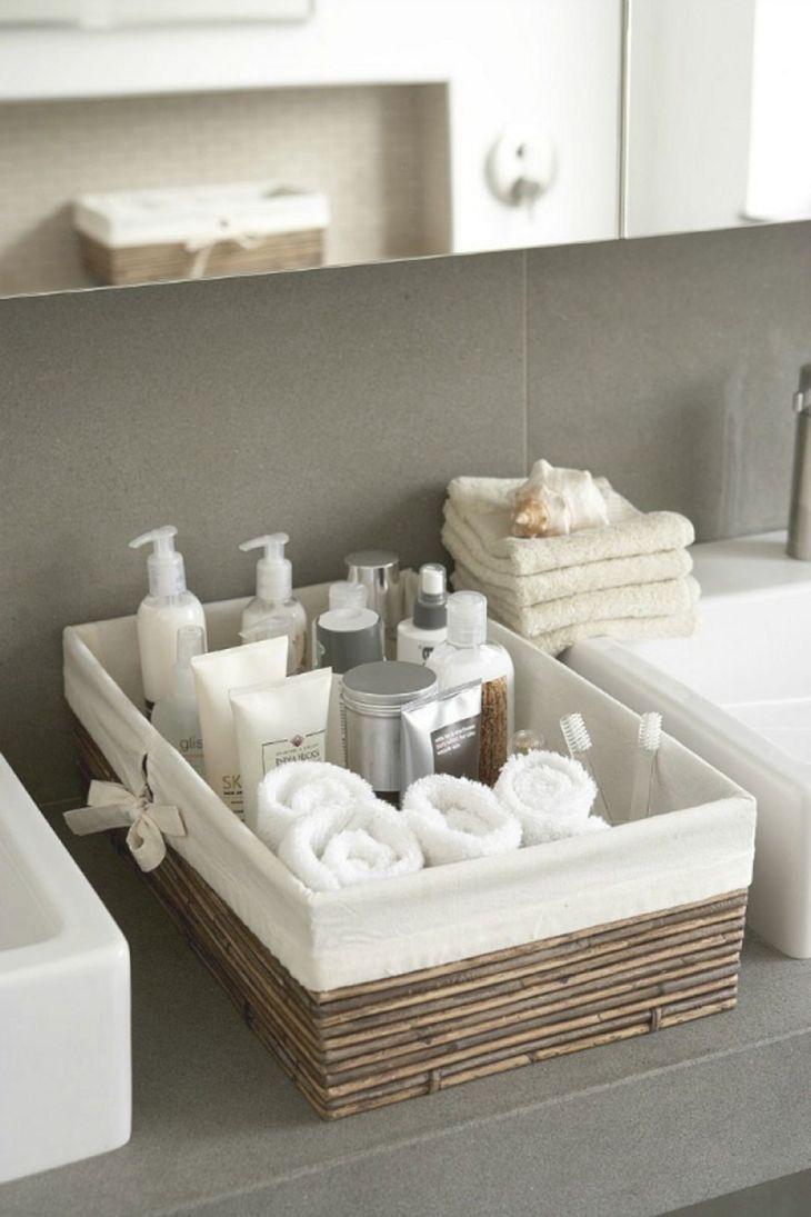 DIY Bathroom Organizing Ideas