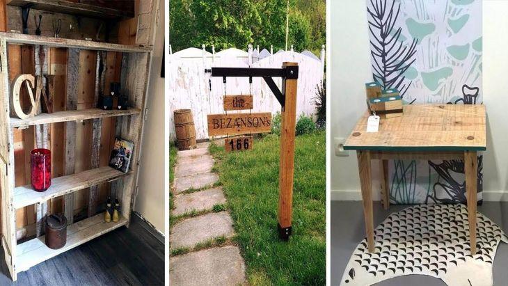 Easy DIY Wood Pallet Ideas