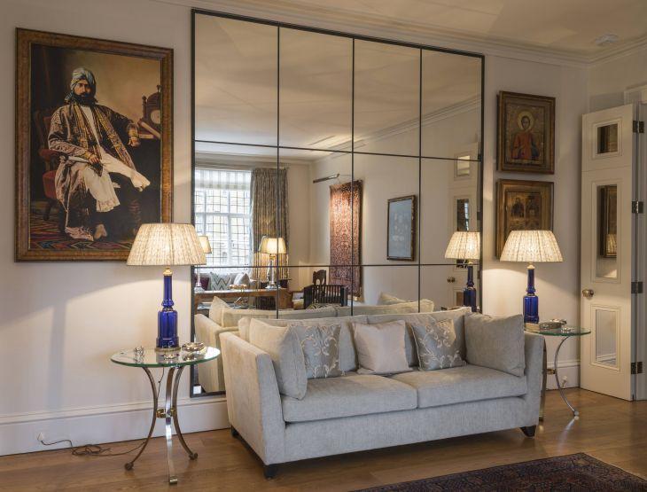Living Room Mirror Antique Ideas