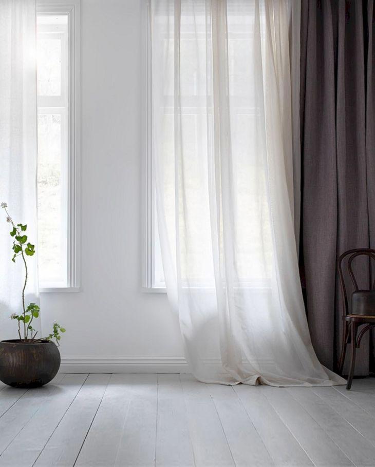 MInimalist Transparant Curtain Ideas