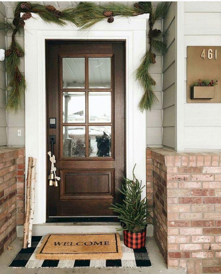 Modern Farmhouse Front Door Design