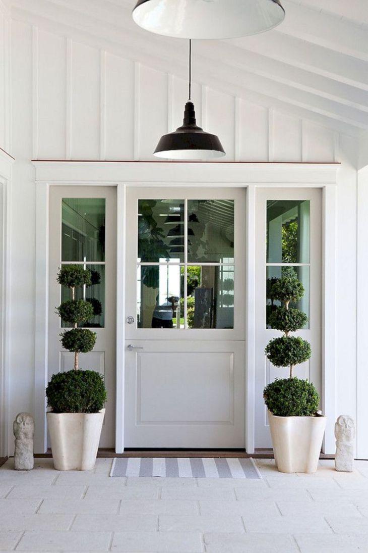 Modern Farmhouse Front Door Ideas