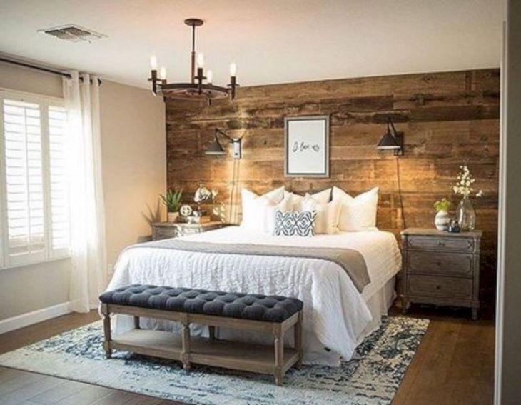 Rustic Bedroom Wall Decoration Ideas