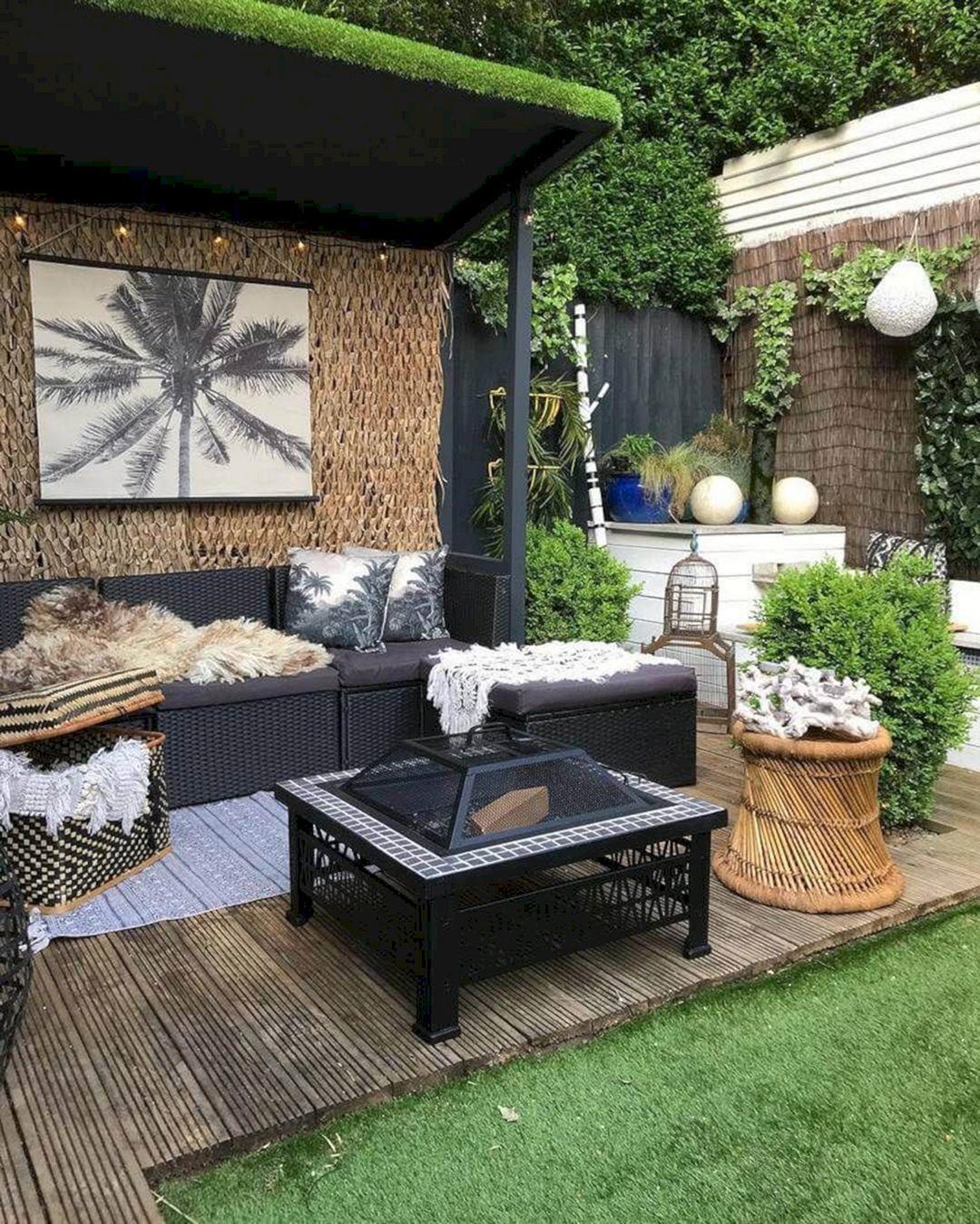 Boho Garden Design