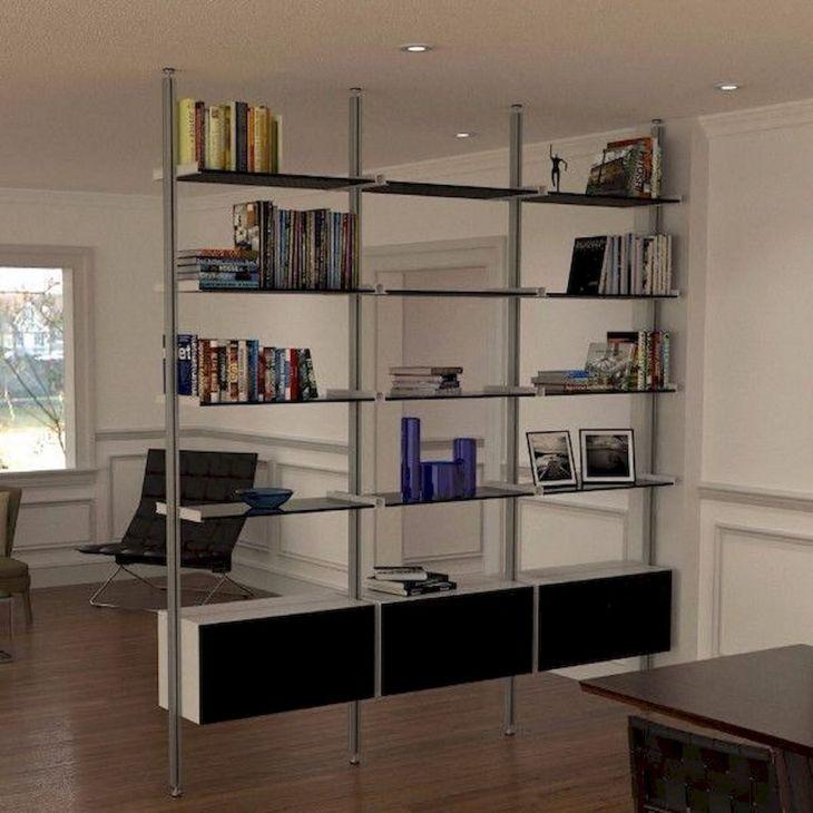 Book Cabinet Room Divider Ideas