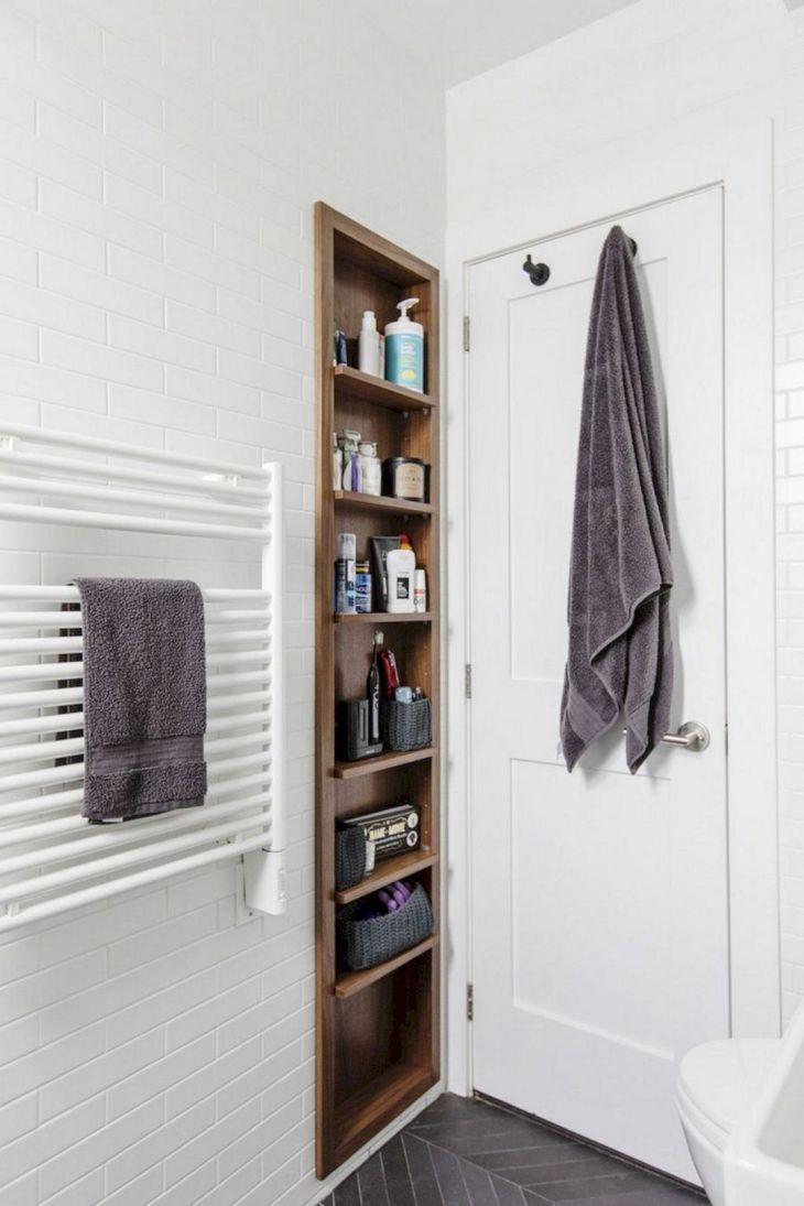Modern Small Bathroom Storage