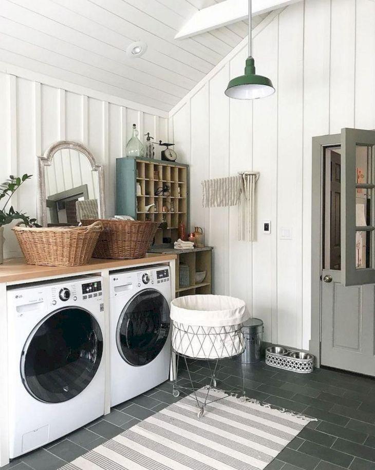 Rustic Laundry Room Design