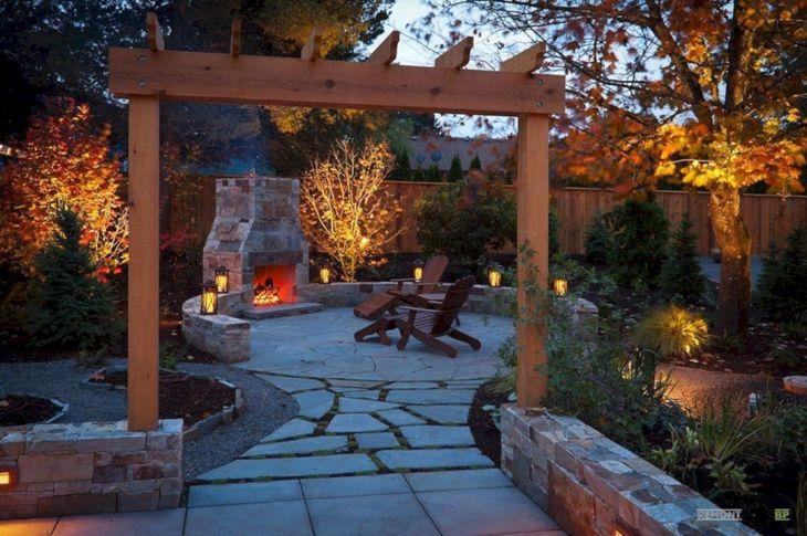 Autumn Backyard Decoration Ideas