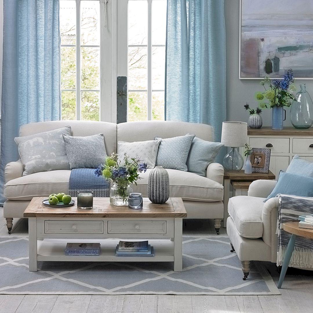 Coastal Living Room Accessories