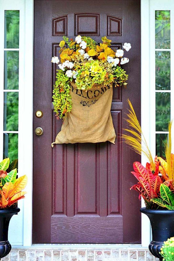 Fall Front Door Design