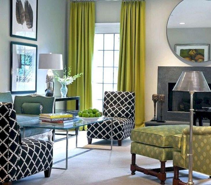 Grey Green Living Room Ideas