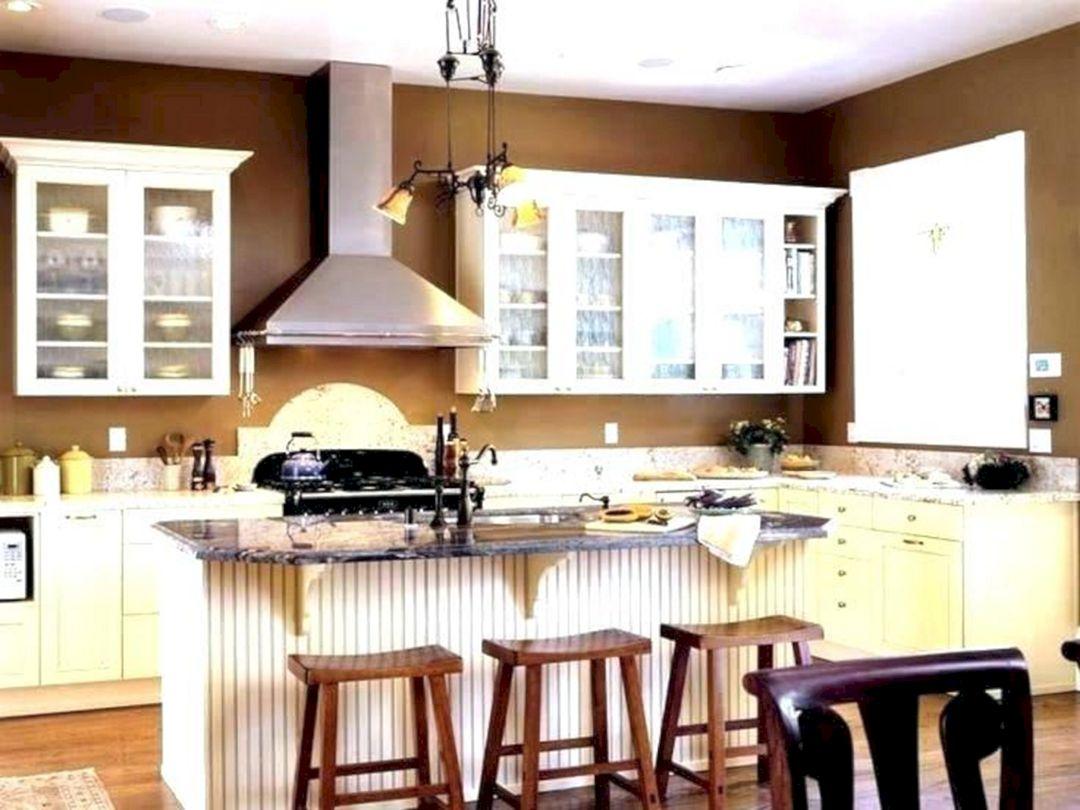 Kitchen Warm Color Combination