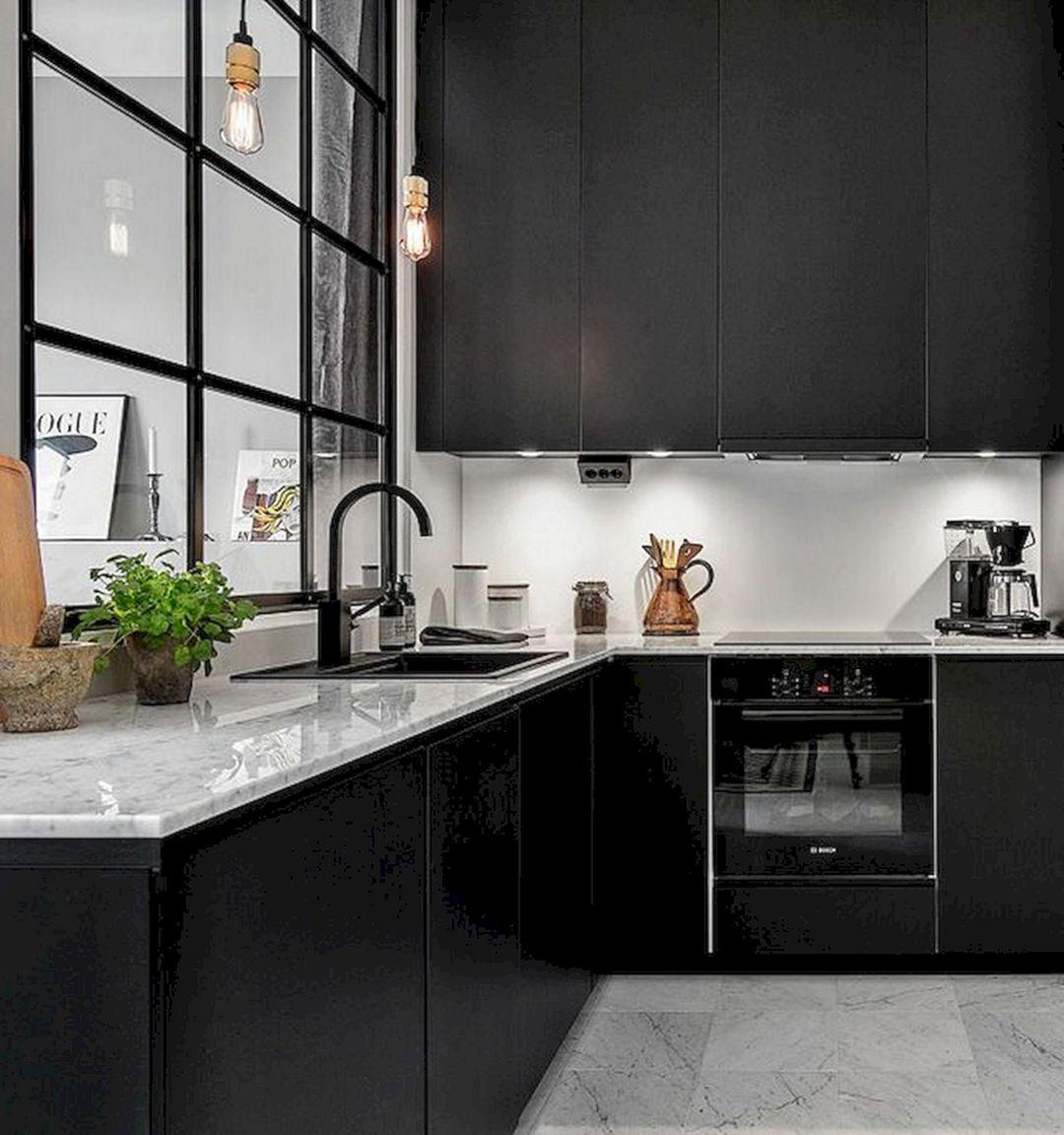 Kitchen White And Black ideas