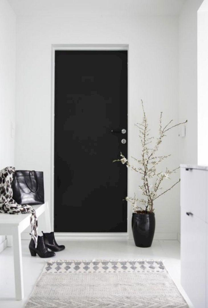 Solid Black Home Door Ideas