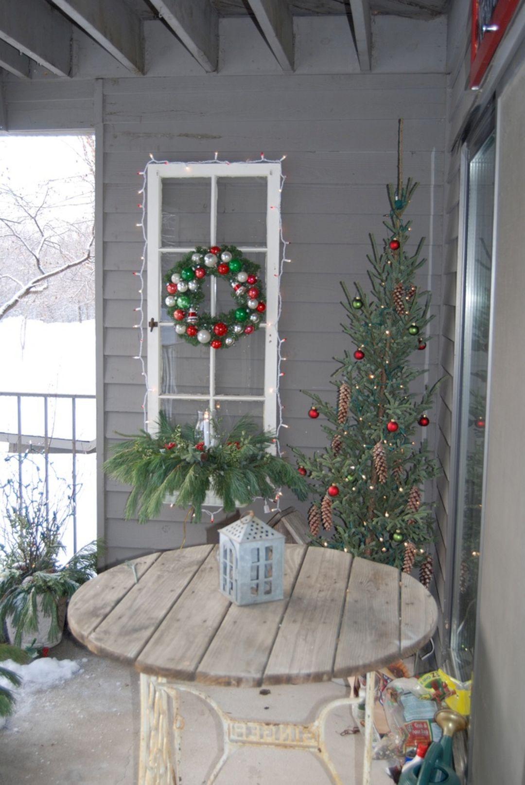 Best Christmas Balcony Design