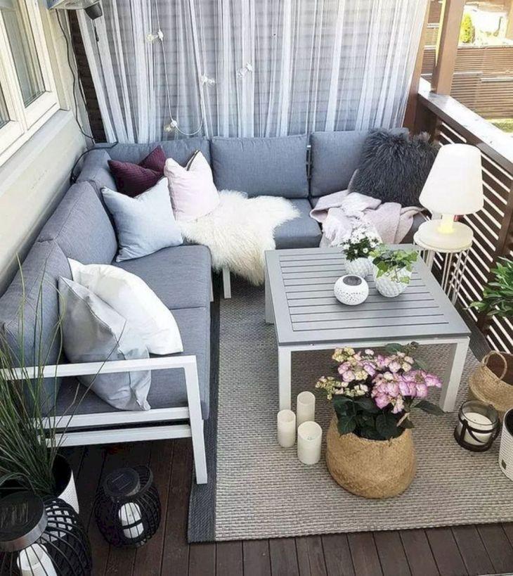 Chic Balcony Design Ideas