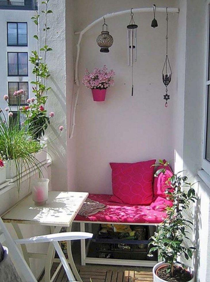 Easy Small Balcony Ideas