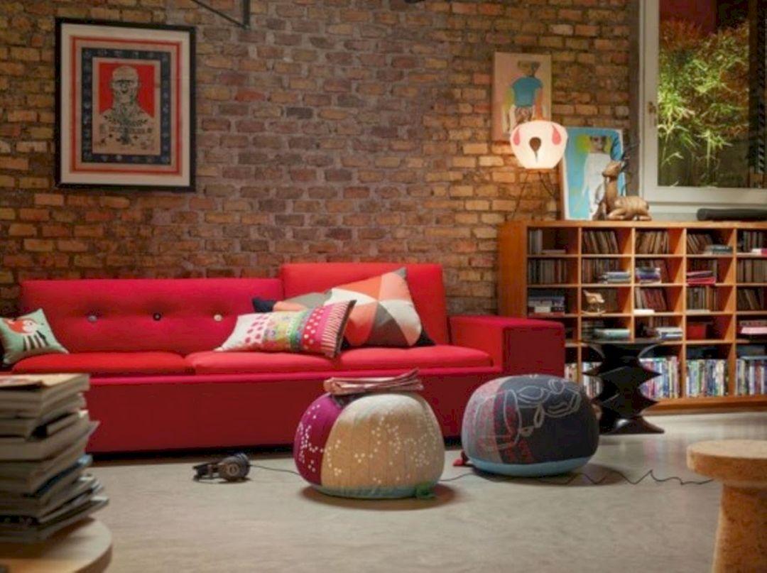 Top Brick Wall Living Room ideas