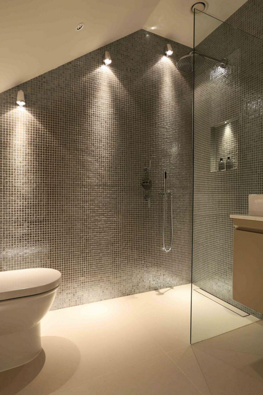 Bathroom Shower Light Idea