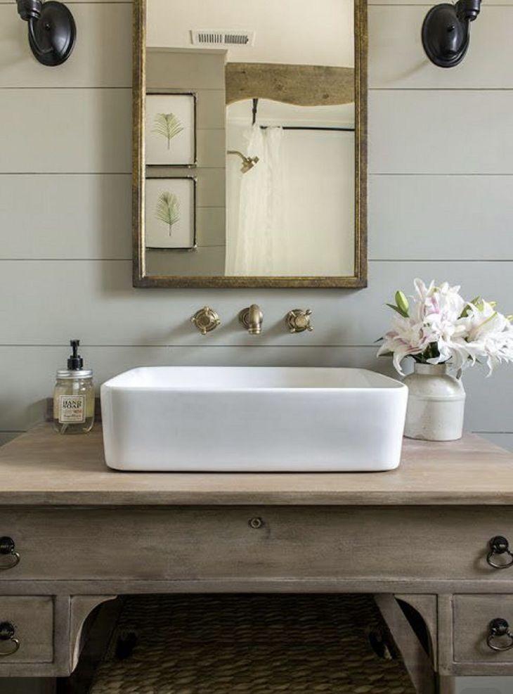 Bathroom Sink With Light Fixture