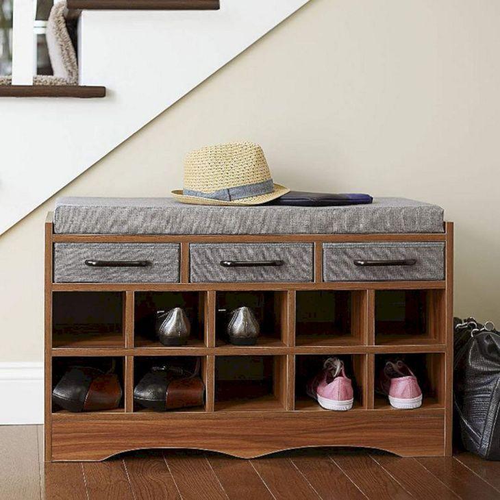 Bench SHoe Storage Ideas