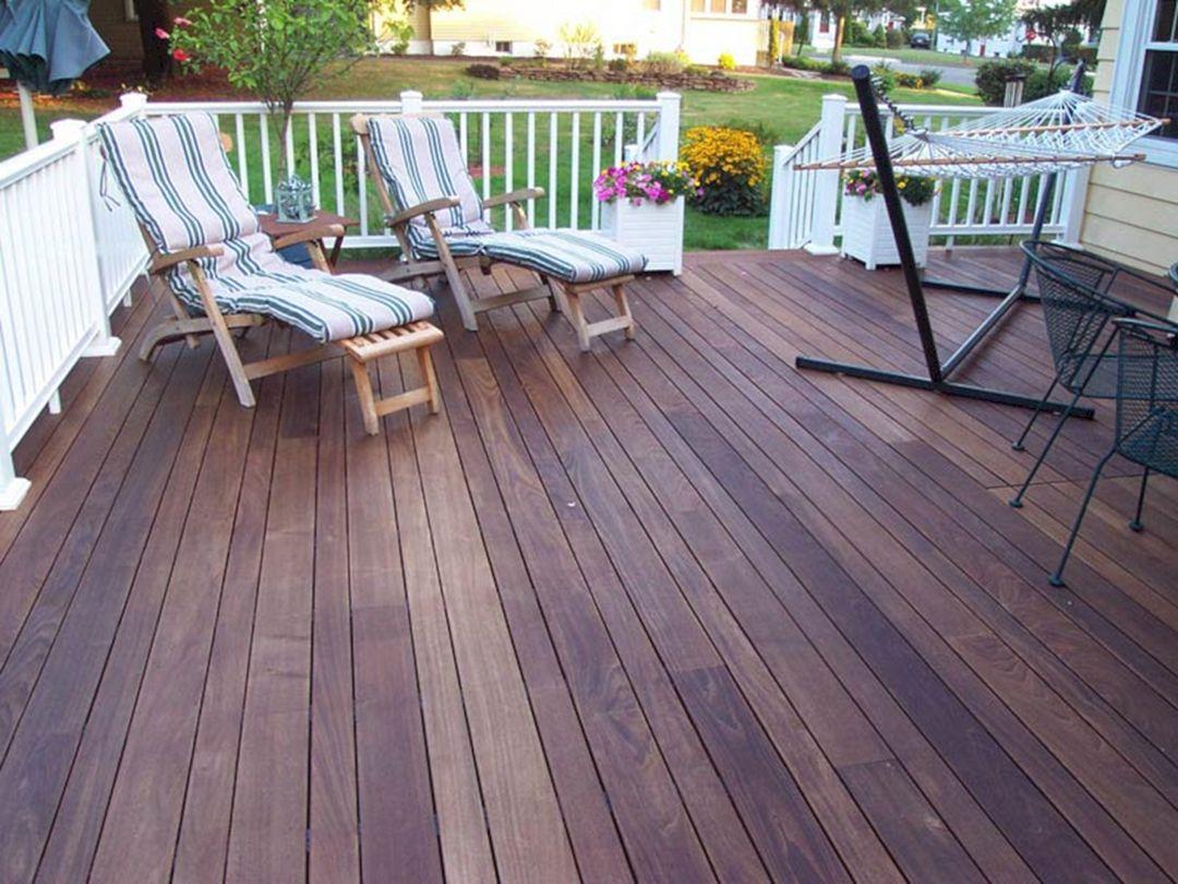DIY Wood Deck Ideas
