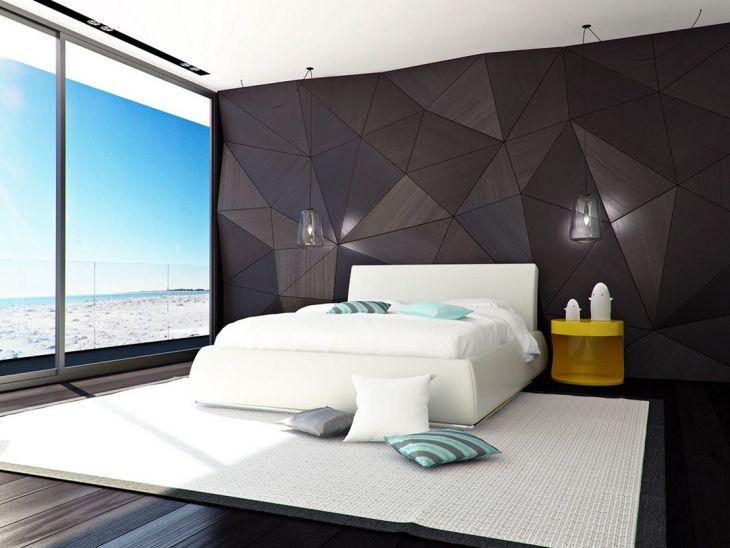 Minimalist Futuristic Bedroom Design