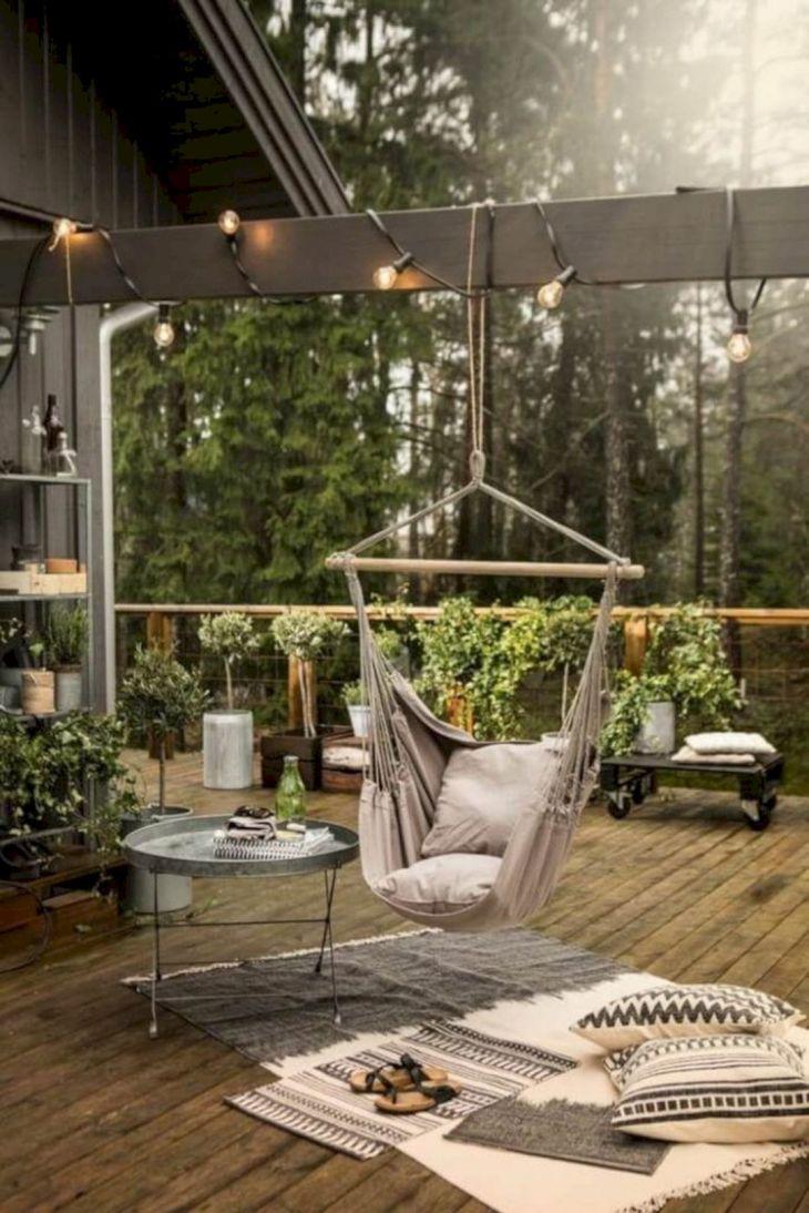 Relaxing Backyard Hammock Ideas