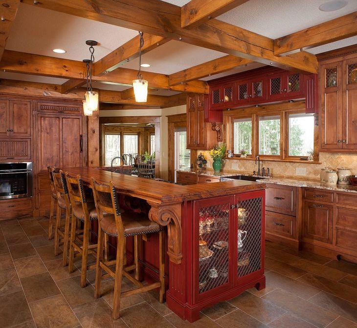 Rustic Kitchen Cabinet Design