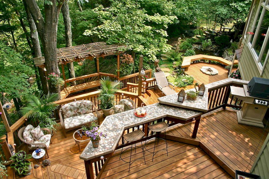 Stunning Wooden Deck Ideas