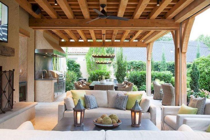 Best Outdoor Living Room Design