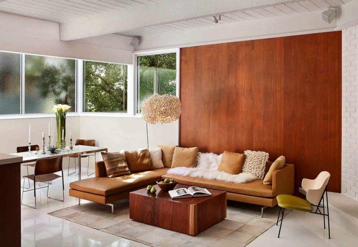 Mid Century Living Room Decoration