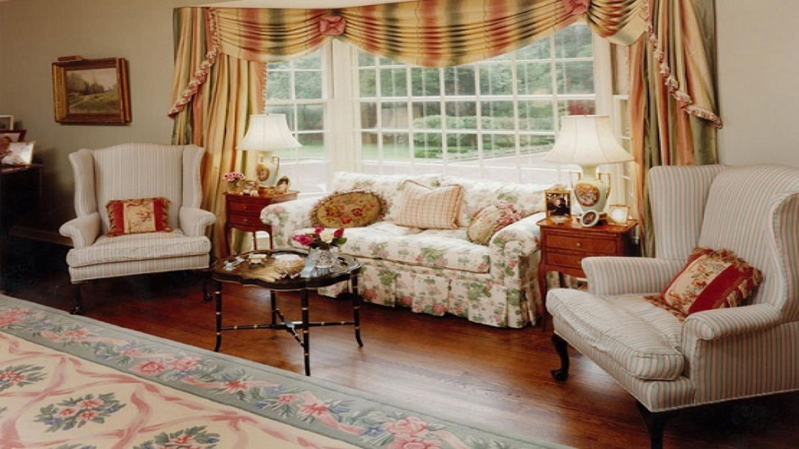 Country Style Living Room Furniture Ideas 23
