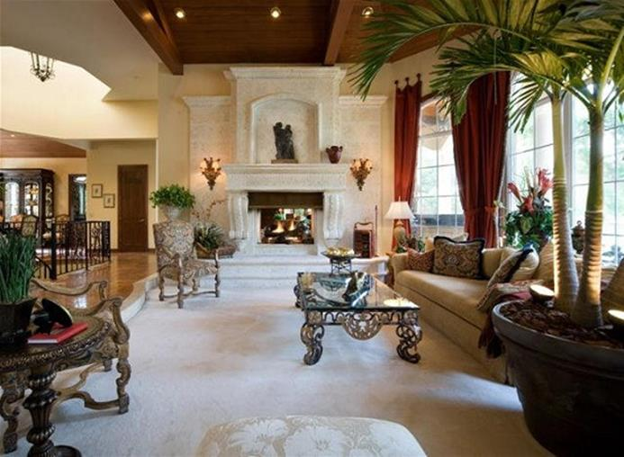 Country Style Living Room Furniture Ideas 25