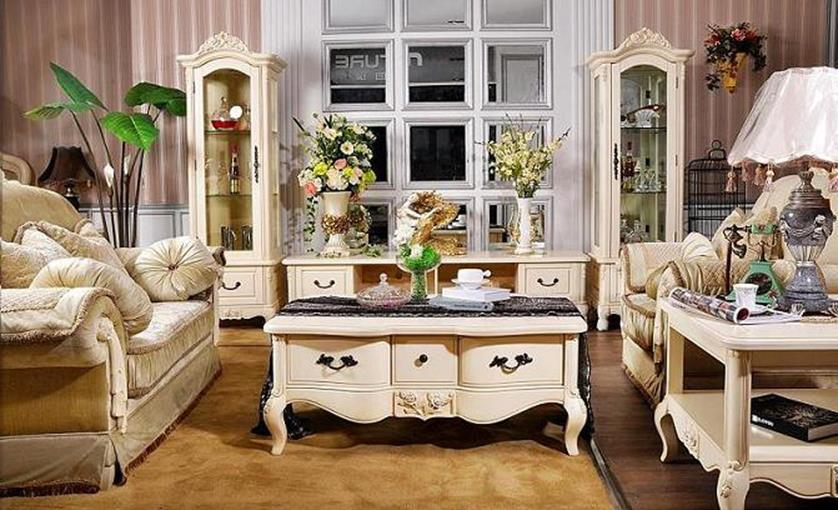 Country Style Living Room Furniture Ideas 29