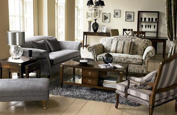 Country Style Living Room Furniture Ideas 9